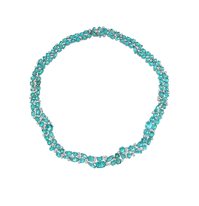 Martin Katz Paraiba necklace