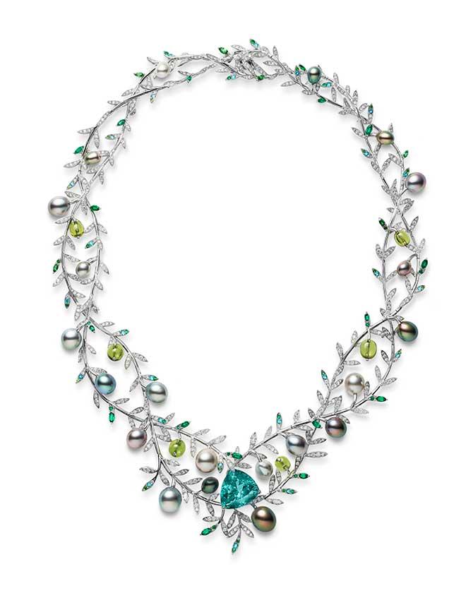 Mikimoto Olive Tree Jardin Mysterieux necklace