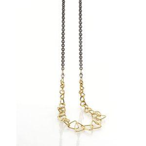 Sarah Graham one-of-a-kind Trigon necklace
