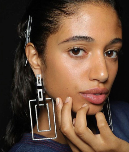 Prabal Gurung earrings spring 2020