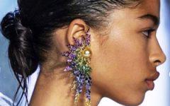 Prabal Gurung spring 2020 earring