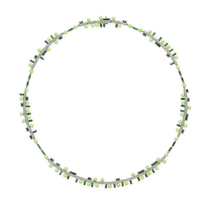 Sarah Ho Wisteria round necklace