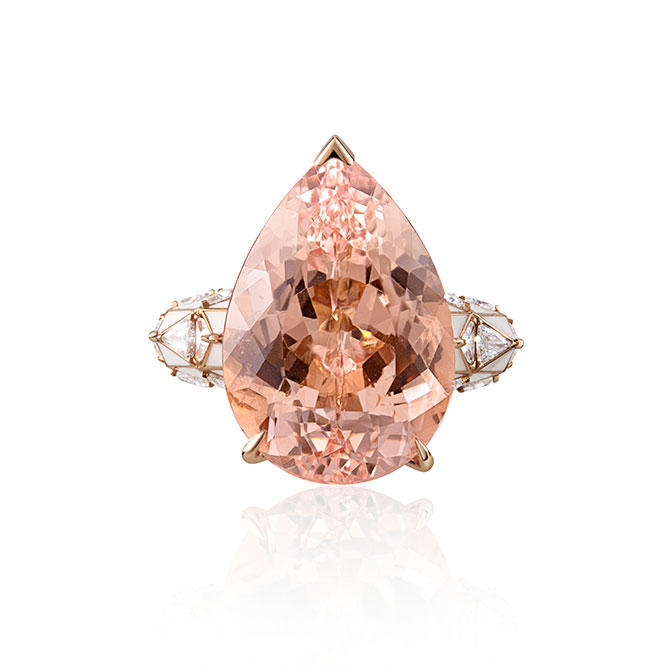 Sarah Ho morganite ring