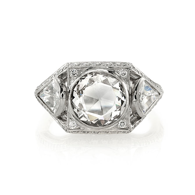 Single Stone Bailey ring
