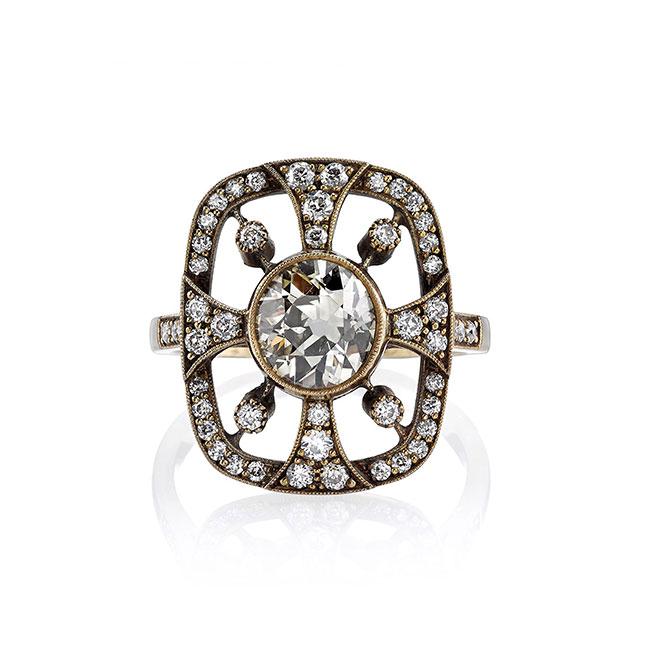 Single Stone Chantal ring