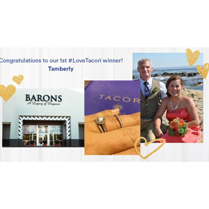 Love Tacori first contest winner