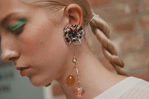 Ulla Johnson spring 2020 earrings