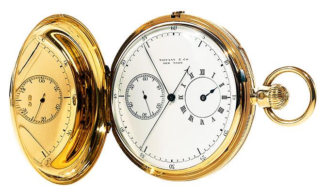 1869 Tiffany pocket watch