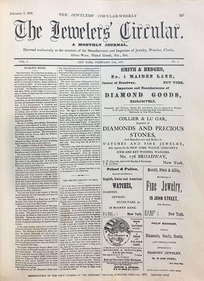 1870 Jewelers Circular