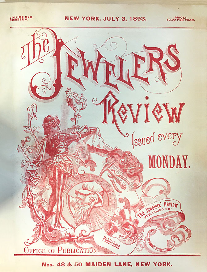 1893 Jewelers Review