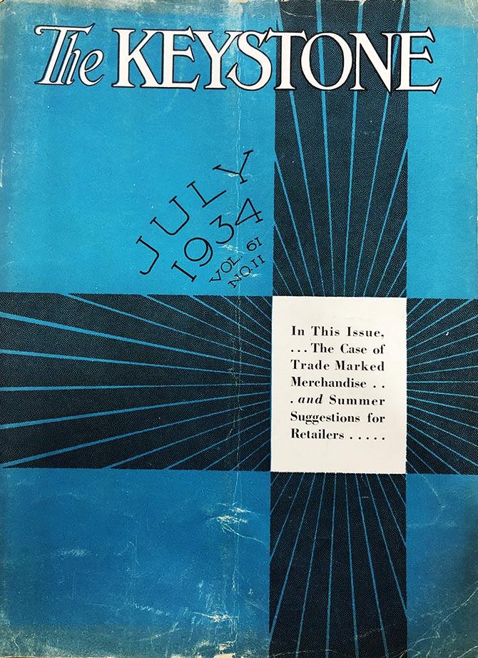 1934 Keystone cover