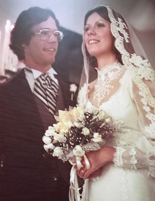 1970s Henderson wedding photo