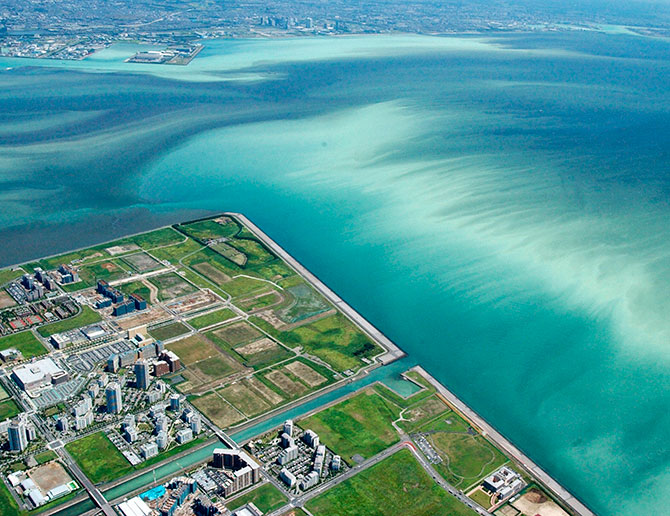 Algal blooms in Japan