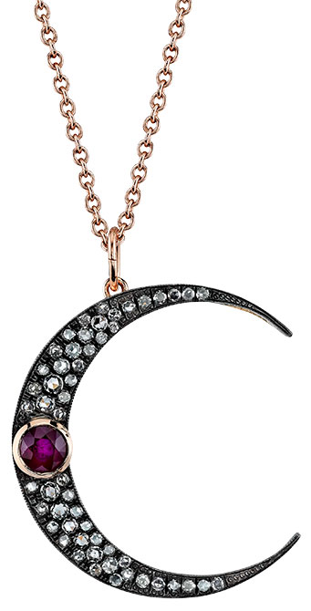 Andrea Fohrman luna necklace
