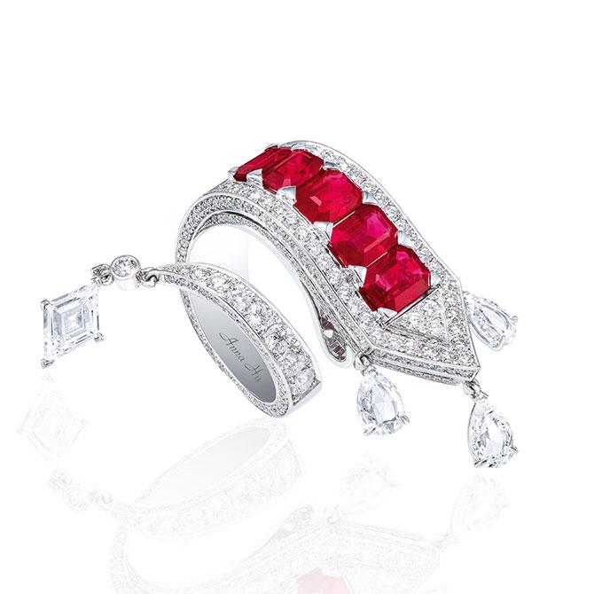 Anna Hu Appassionata ring