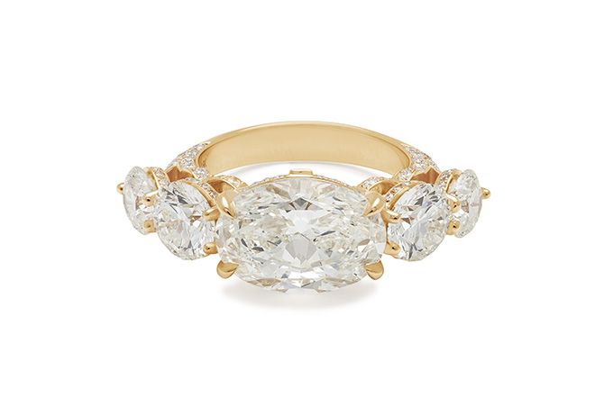 Anna Sheffield Ashara Bea engagement ring