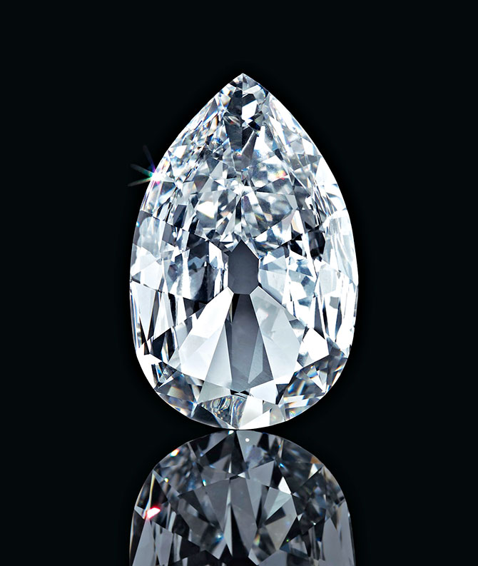 Arcot II internally flawless D color diamond