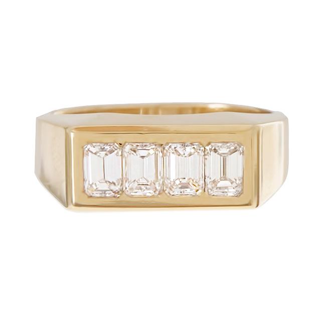 Ariel Gordon vintage baguette ring