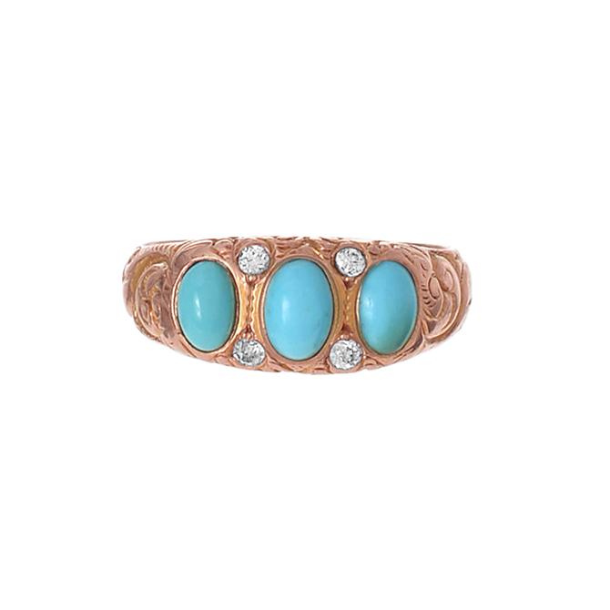 Ariel Gordon vintage turquoise ring