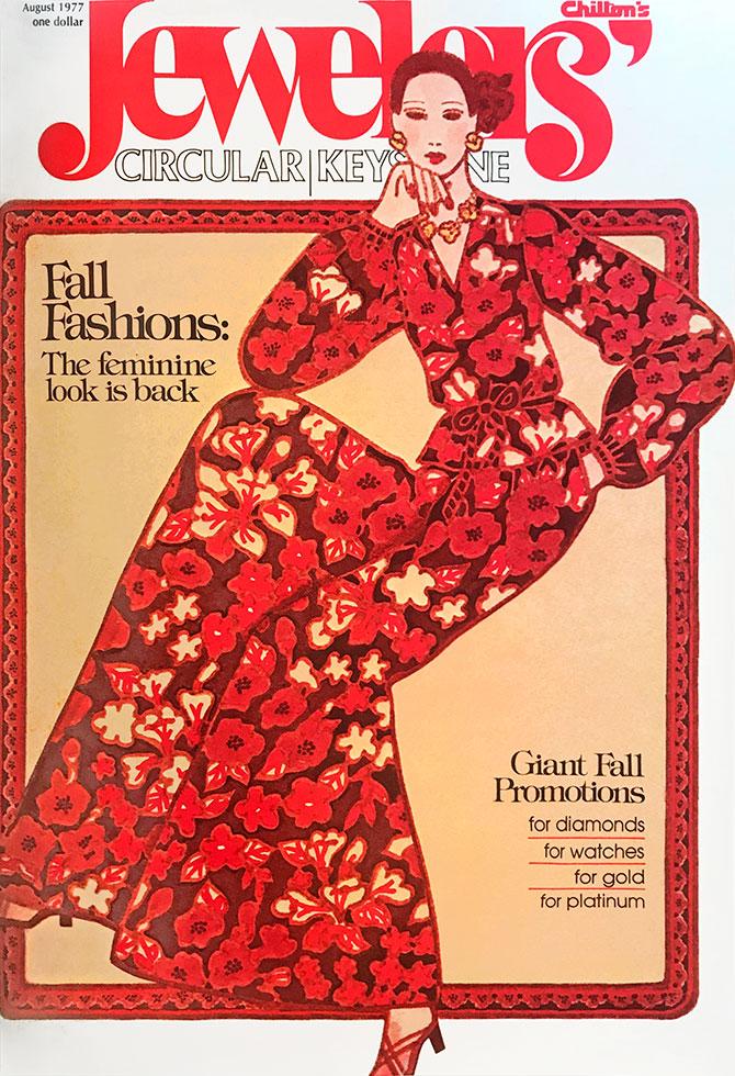 August 1977 JCK cover