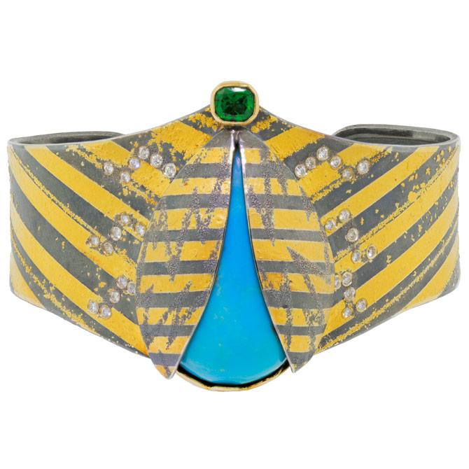 Atelier Zobel beetle cuff bracelet