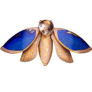 Atelier Zobel moth brooch