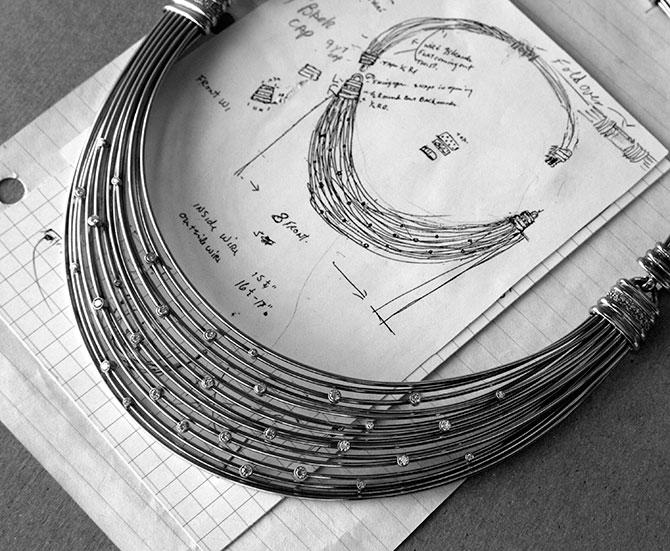 David Yurman starlight necklace