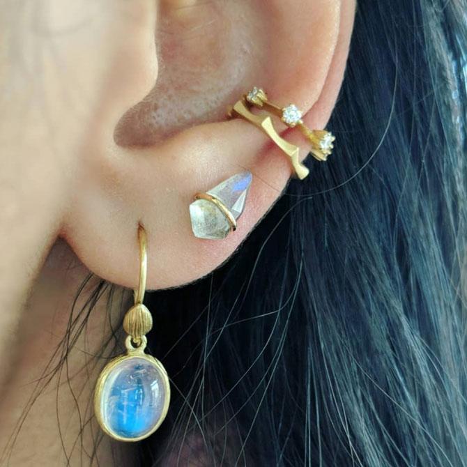 Aria Agarwal Instagram earrings