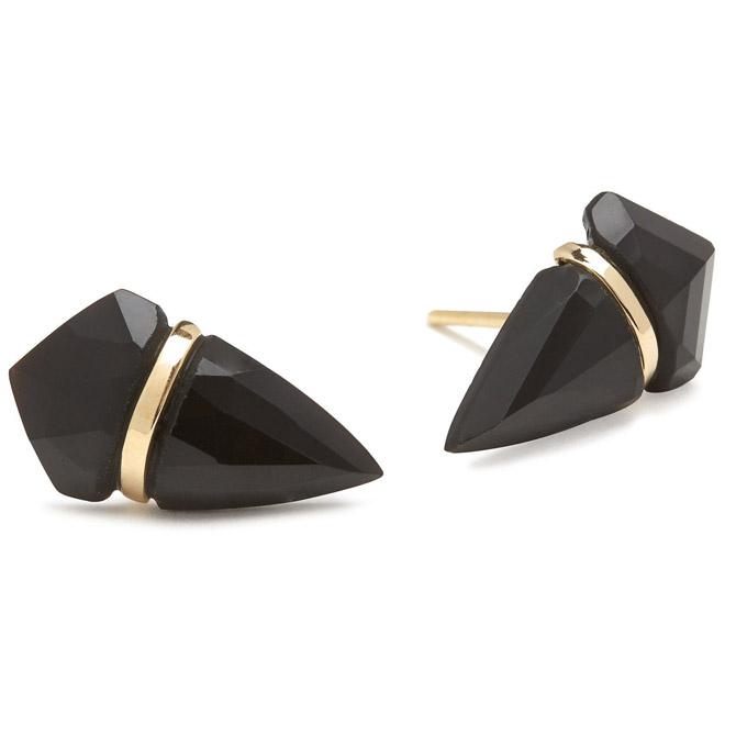 Page Sargisson black onyx large kite earrings