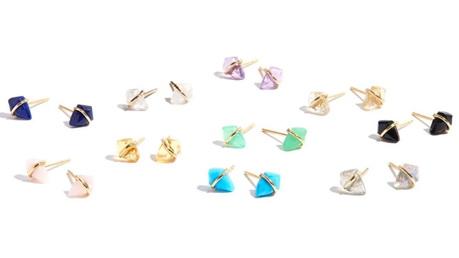 Page Sargisson Kite teeny earrings