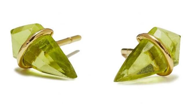 Page Sargisson peridot Kite earrings