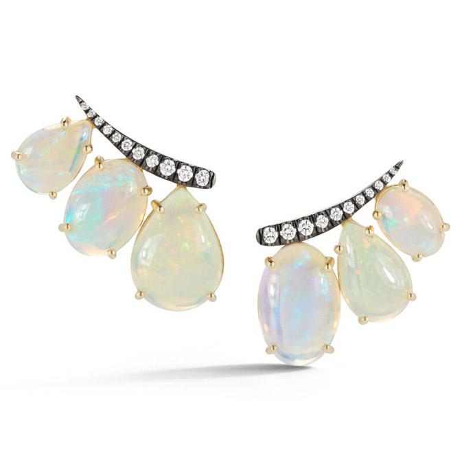 Jemma Wynne opal ear climbers