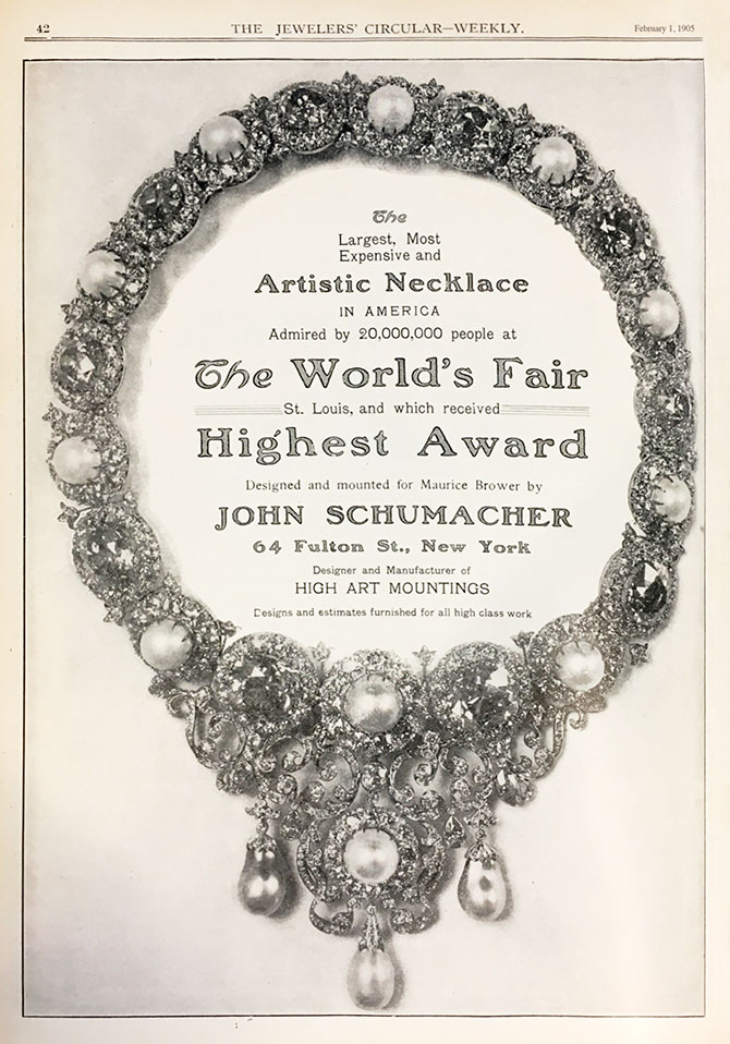 February 1905 Jewelers Circular Weekly ad