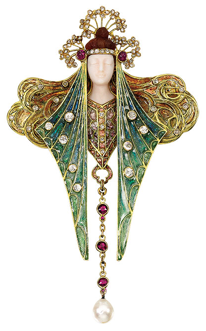 Georges Fouquet brooch