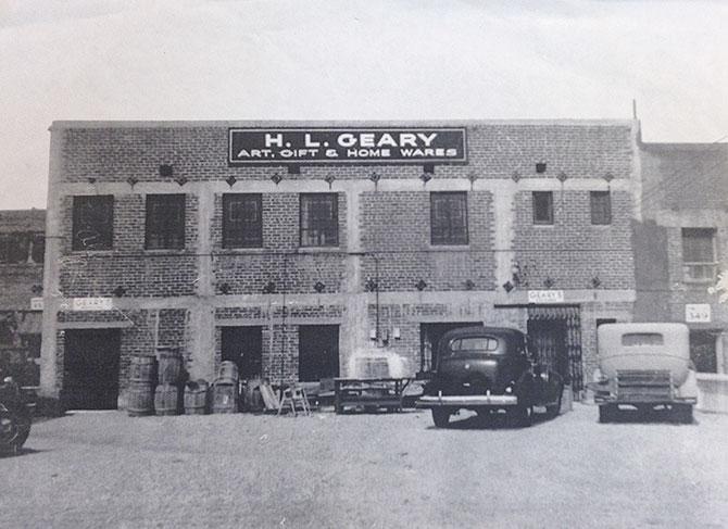 HL Geary in 1930