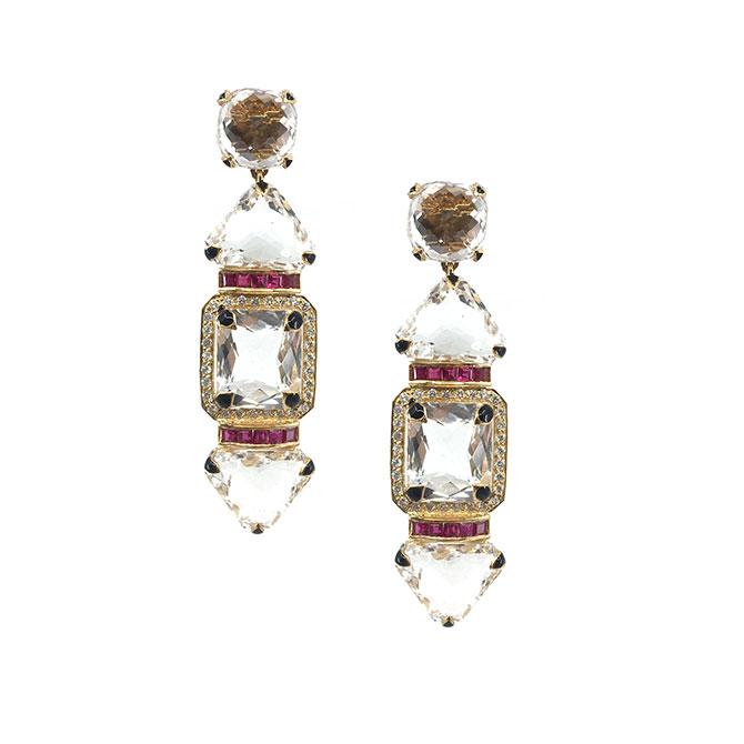 Hanut SIngh Mega Watt earrings