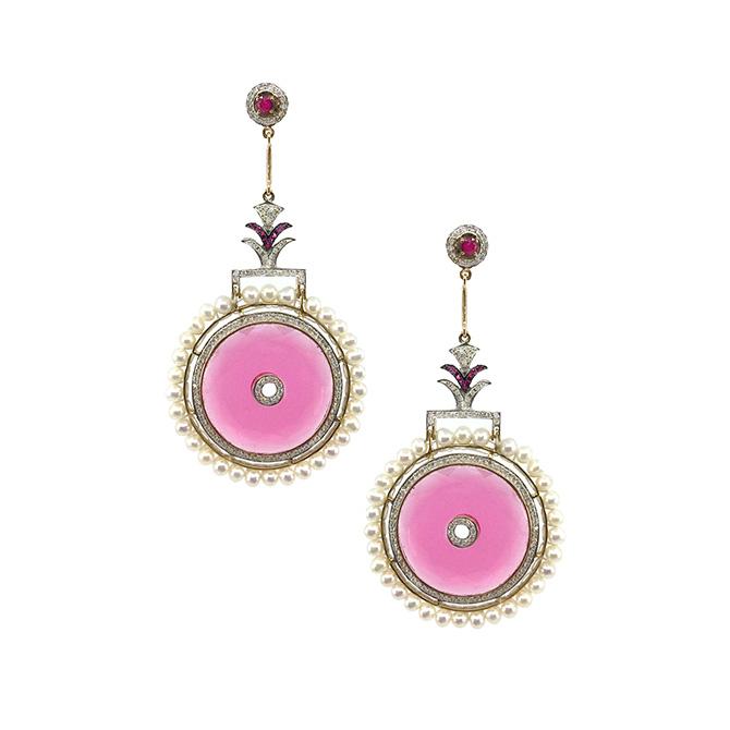 Hanut Singh Circle of Life earrings