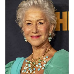 Helen Mirren in David Webb turquoise