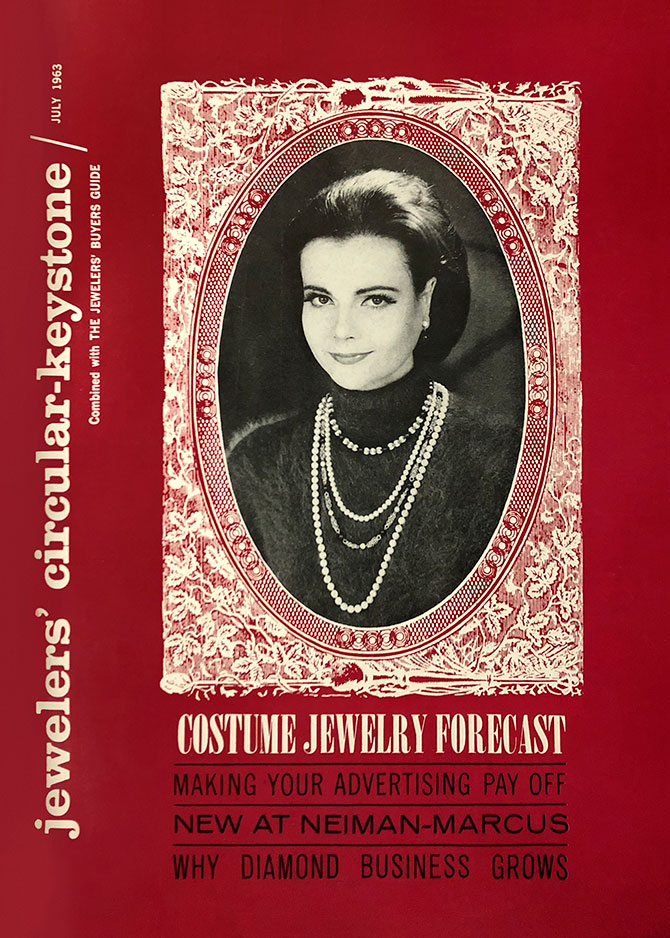 July 1963 JCK cover