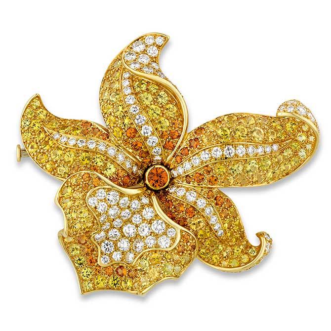 MS Rau Tiffany brooch