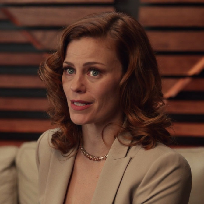 Cassidy Freeman as Amber Gemstone in The Rightgeous Gemstones
