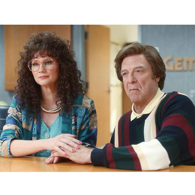 Jennifer Nettles and John Goodman on the Righteous Gemstones
