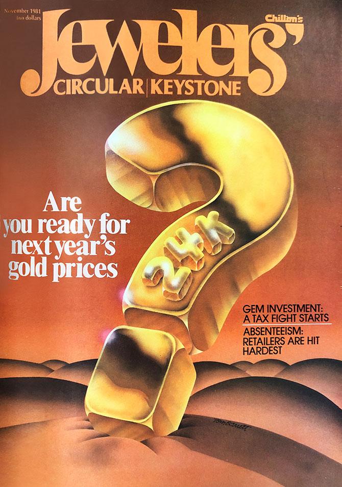 November 1981 JCK cover