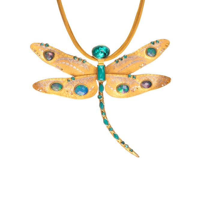 Atelier Zobel dragonfly pendant