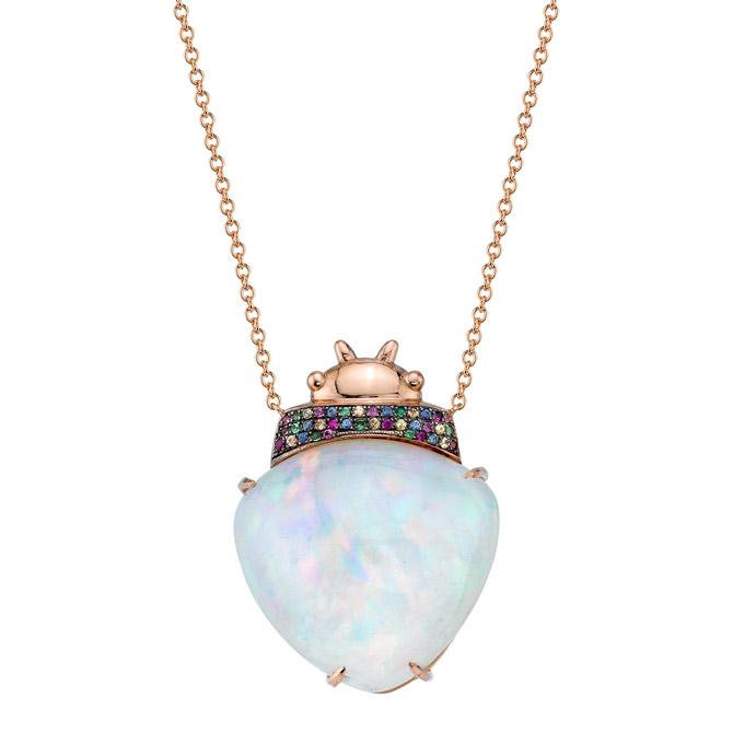 Daniela Villegas Achelois necklace