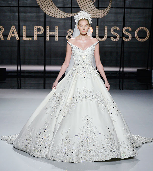 Ralph and Russo runway bride