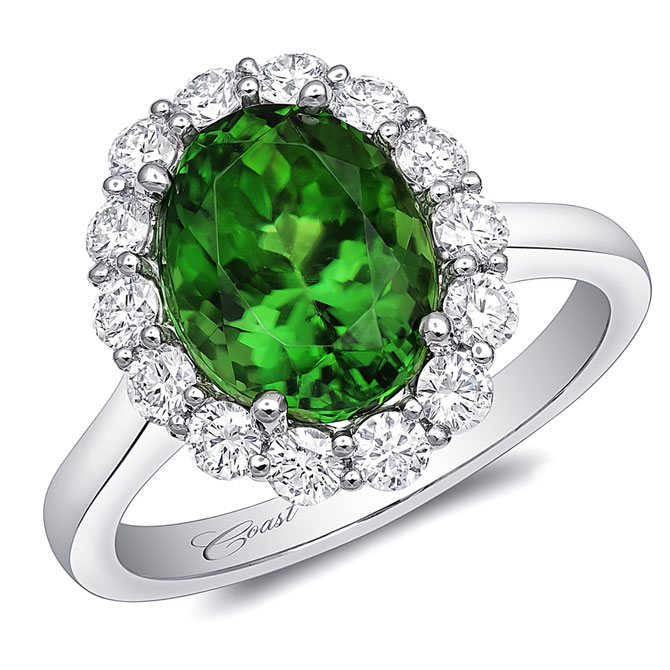 Coast Diamond tourmaline ring