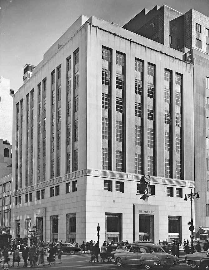 Tiffany flagship 1940