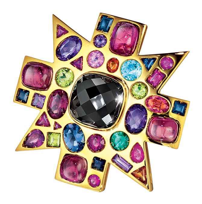 Verdura byzantine pendant