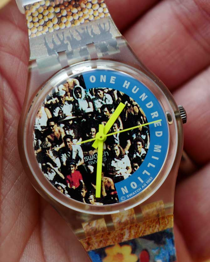 Vintage Swatch One Hundred Million The People